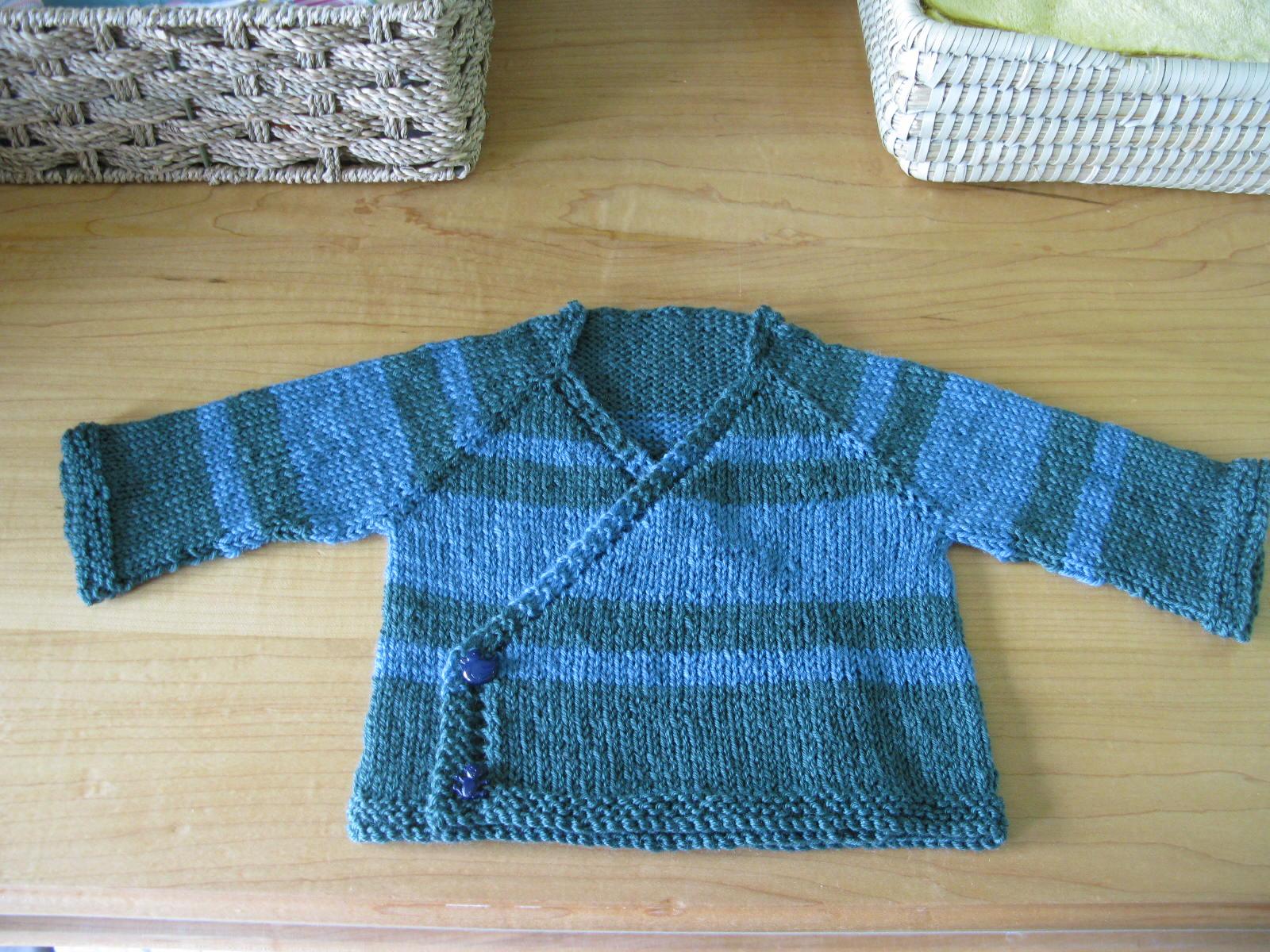 Knitting Pattern For Kimono Wrap : On Urges and their Fulfillment.   Amfora.